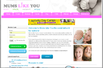 Mums like you -Social Network for Mums